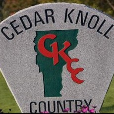 Cedar Knoll Country Club.