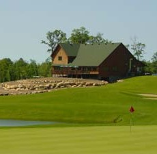 Clubhouse View from Fifth Hole