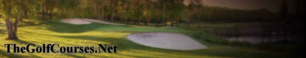 The website for golf courses in North America